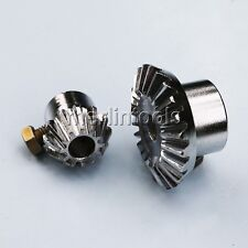 1 Pair Bevel Gear Set Bore 10mm For Honey Extractor Beekeeping Accessory