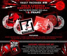 White Stripes Third Man Records Vault 19 Elephant Singles Vinyl Records