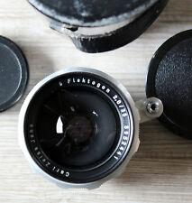 Objektiv Flektogon 2,8/35 von Carl Zeiss Jena, Alu