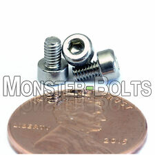 M2.5 x 4mm - Qty 10 - DIN 912 SOCKET HEAD Cap Screws - Stainless Steel A2 / 18-8