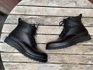 Cole Haan Original Grand Black Combat Ankle Boots Men's Size 7