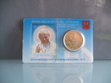 VATICANO 2014 50 CENT STAMP & COINCARD N° 5