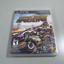 MotorStorm Motor Storm Apocalypse COMPLETE GREAT Sony Playstation 3 PS3 (C100)