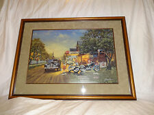 """Dave Barnhouse '96 """"Spring Cleaning"""" Limited Edition Framed Print # 482 COA"""