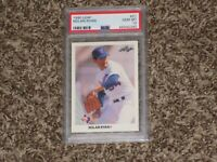 Nolan Ryan 1990 Leaf PSA 10 Rangers #21 Iconic Card New Label PSA 10 GEM MINT