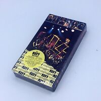 KISS Reunion MTV Unplugged Gene Simmons Paul Stanley Peter Criss Ace Frehley VHS
