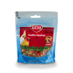 Kaytee Healthy Toppings for Birds Free Shipping