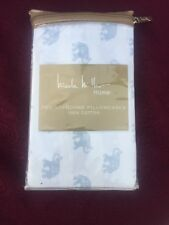 NWT Elephant Two Standard Pillowcases Nicole Miller