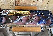 Sky Masters History's Heroes Diecast Set Of 4 Planes Sealed New in Box
