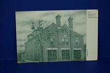 Vintage 3237 Moody Street Fire Station, Waltham, Massachusetts,  Post Card, PC3