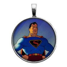 Fleischer Superman Key Ring Necklace Cufflinks Tie Clip Ring Earrings Cartoon