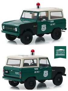 1/18 Greenlight Ford BRONCO New York Police Department Nypd 1967 Delivered