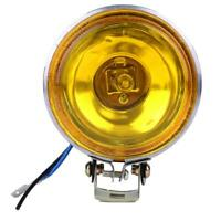 12V 55W LED Car Round Fog Light Daytime Running Lamp DRL Driving Bulb Yellow 3''
