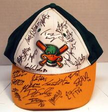 Signed Madison Mallards - Northwest League Baseball  Green, white & yellow  cap.