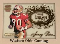 1999 Pacific Paramount Jerry Rice #27 Team Checklist Card