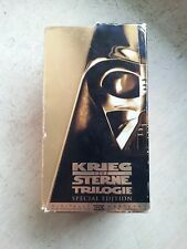STAR WARS KRIEG DER STERNE Trilogie Special Edition VHS Box