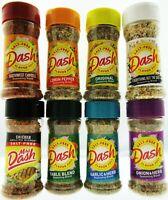 Mrs. Dash 8 Spice Flavors ~ Lot of 8 ~ Salt - Free No MSG Seasoning