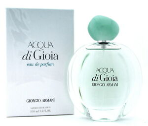 ACQUA di GIOIA Perfume by Giorgio Armani 3.4 oz. EDP Spray for Women. New in Box