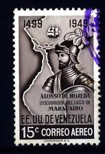 VENEZUELA - 1950 - 450° Anniversario della scoperta del lago di Maracaibo da Alo