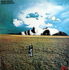 JOHN LENNON MIND GAMES  LP  ITALY
