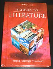 Bridges to Literature Vol. 2, Hardcover. Middle School, Homeschool, English Text
