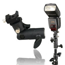 Adjustable Hot Shoe Mount Flash Holder Bracket For Tripod Umbrella Speedlite