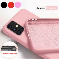 Genuine Liquid Silicone Soft Case Cover For Samsung Galaxy S20 FE S20 S10 S9 S8