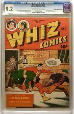 Whiz Comics #65 CGC 9.2 Crowley File Copy