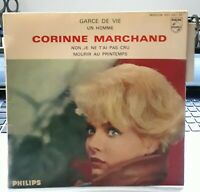 RARE French EP 45t BIEM (7') CORINNE MARCHAND (Lang,1962) Philips 432.842 NM/EX+