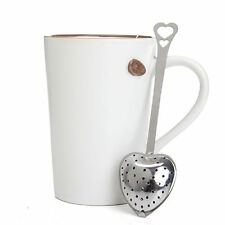 New Stainless Steel Loose Tea Infuser Leaf Strainer Filter Diffuser Herbal Spice