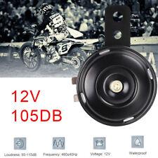 12V 105db Loud Schwarz Universal Hupe Ersatz Horn für Motorrad Roller Motorcycle