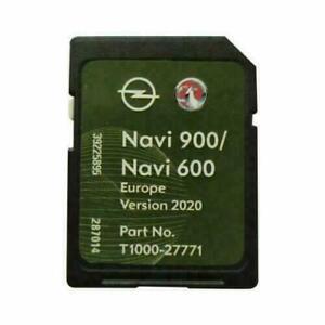 OPEL & CHEVROLET NAVI 600/ 900 SD KARTE 2020 INSIGNIA ASTRA MOKKA MERIVA ZAFIRA