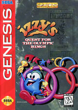 Izzy''s Olympic Quest SG New Sega Genesis