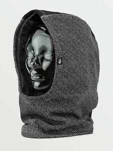 2021 NWT YOUTH VOLCOM RADAR HOOD $27 OS Black Check over helmet fleece balaclava