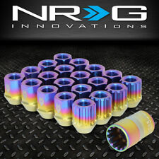 NRG INNOVATIONS LN-T200MC-21 M12X1.5 16PC 27MM OPEN-END LUG NUT + 4X LOCK + KEY