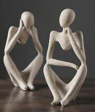 Nordic Abstract Statue Resin Figurine Decor Sculpture Modern Art