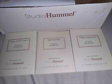 Berta Hummel Studio Hummel Ornaments - Set #18 (96056) w/ Coas - 2001 Goebel