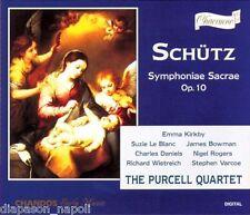 Schütz: Symphoniae Sacrae / Purcell Quartet, Emma Kirkby - CD