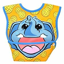 Dex Baby Dura Bib Big Mouth - Small 3-12 Months (Elephant Calf)