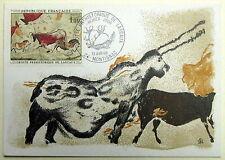 CPA  PREMIER JOUR Y&T N°1555 GROTTE DE LASCAUX - MONTIGNAC (24) 13 juin 1968