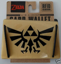 The Legend Of Zelda Card Wallet Slim Aluminum Rfid Blocking NWT