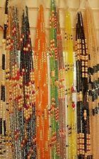 Tummy Beads 2N1 Set Ghana AfricanCzech Waist Beads, Weight-loss tracker,