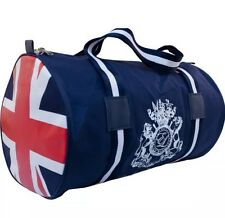 English Laundry Union Jack Design Duffle Bag /