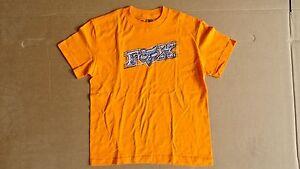 Fox Racing Chemistry Tee T Shirt Orange Boys Medium / Large