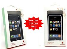 Authentic Vodafone Premium Wrap For iPhone 4 S & 4 Black New