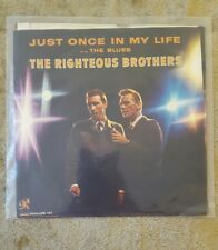 "THE RIGHTEOUS BROTHERS Just Once In My Life/The Blue 7"" 45RPM PHILLES RECORD 127"