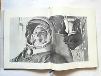 Old book 1978 USSR Cosmos. Rocket. Gagarin.Cosmonautics History.Soviet big book