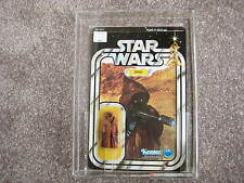 1978 Kenner Star Wars 12 Back-A Vinyl Cape Jawa AFA 90(NM/MT) MOC unpunched.