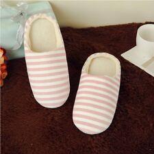 Lovers Women Men Winter Warm Soft Suede Bedroom Indoor Shoes House Slipper