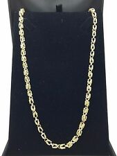 "New Solid 14K Heavy Yellow Gold 30"" Turkish Style Chain Necklace 47.5 grams 5 mm"
